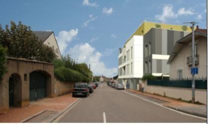Construction de 14 logements locatifs  12 rue Clément Janin 21000 DIJON 4 forages de 200m + raccordement